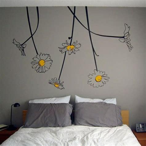 wand wandbild schlafzimmer 25 coole wandmuster ideen wanddekoration selbst basteln