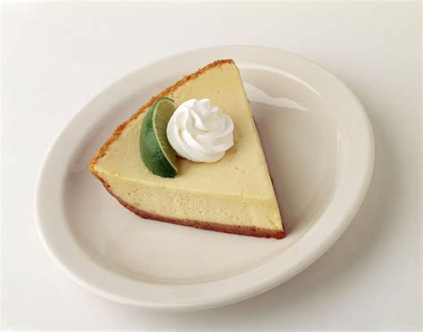 Lime Cheese Slice easy key lime pie with sweetened condensed milk recipe