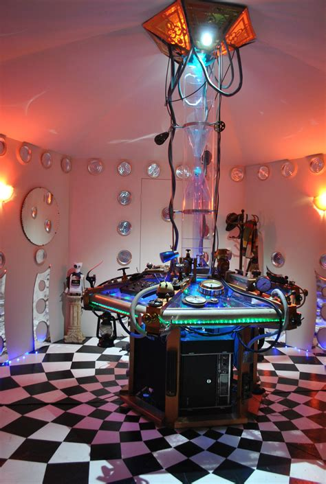 Tardis Room by A Tardis Console Room Because Why Not Nerdist