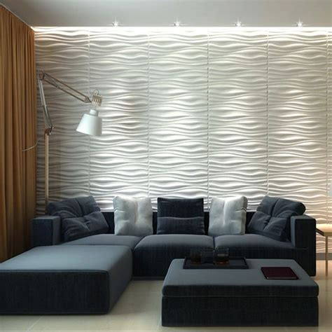 wall wave tile plant fiber panel
