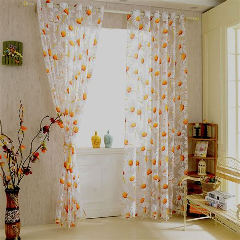 Salmon Colored Curtains Designs Popular Sunflower Curtains Buy Cheap Sunflower Curtains
