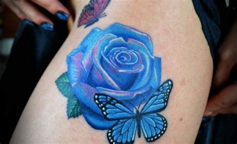tattoo 3d rosas cool butterfly tattoos black roses tattoos blue rose