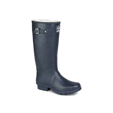 blue wide calf boots woodland original unisex wellington boots navy blue buy