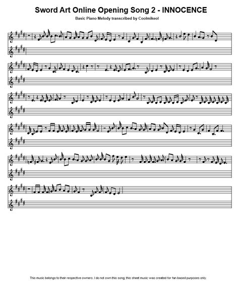 Raise Your Sword Letter To The Exiles Lyrics Piano Melodies Series Topic Quot Otaku Quot