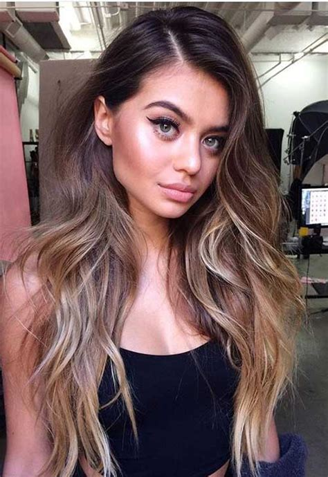 long hairstyles with color highlights best long hairstyles with balayage color long hairstyles