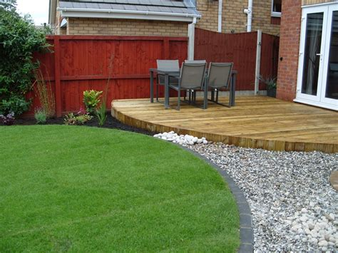 Garden Ideas With Decking Garden Decking Ideas Inspiration The Garden