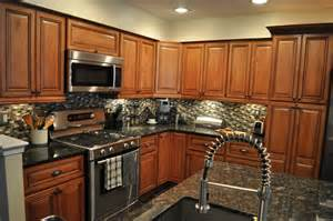 Kitchen Cabinets And Countertops Ideas Kitchen Kitchen Backsplash Ideas Black Granite