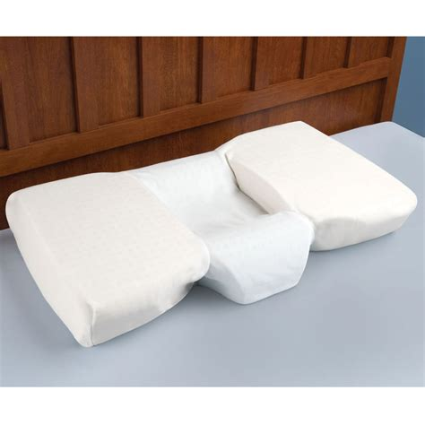 best bed pillow for neck problems contour pillow made from viscofresh memory foam the pillow
