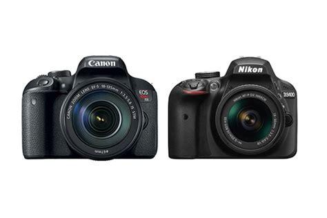 slr canon vs nikon canon t7i vs nikon d3400 comparison daily news