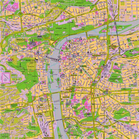 prague map prague map detailed city and metro maps of prague for