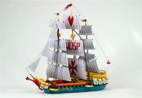 3d Origami Boat - 3d origami large ship origami japanese of