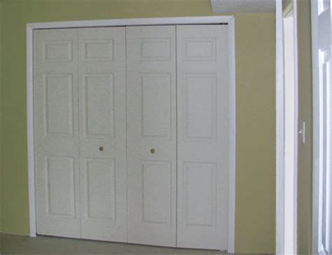 Bifold Closet Door Installation Home Dzine Home Improvement Install Bi Fold Closet Doors