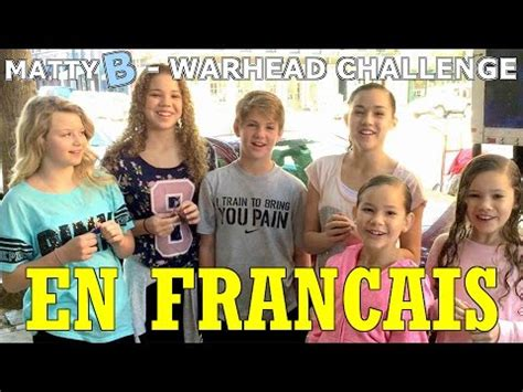 challenge traduction mattyb the warhead challenge traduction fran 231 aise