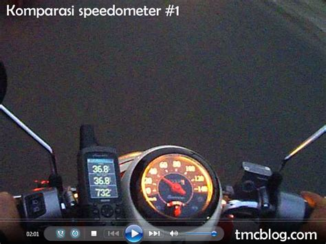 Spido Speedo Kacamika Kilometer Honda Scoopy Lama tmcblog 187 membandingkan speedometer honda scoopy fi dengan gps