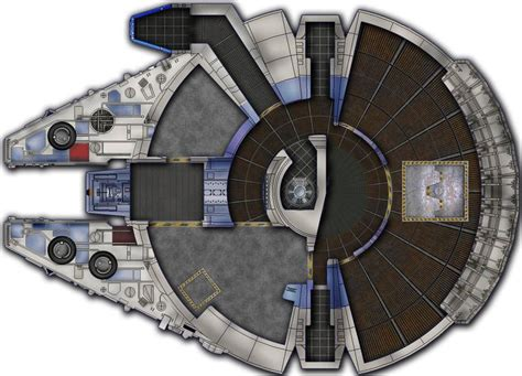 millenium falcon deck plans 221 best images about deckplans starship on