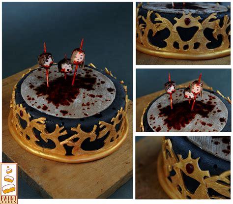 thrones kuchen of thrones le trone de fer paint cakes by paintcakes