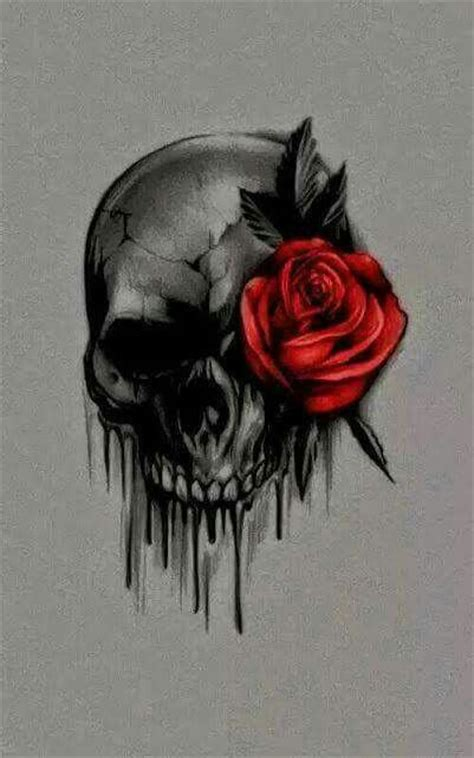 sugar skull tattoo with roses tattoos askideas
