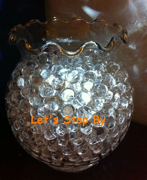 clear water bead  led submersible wedding home