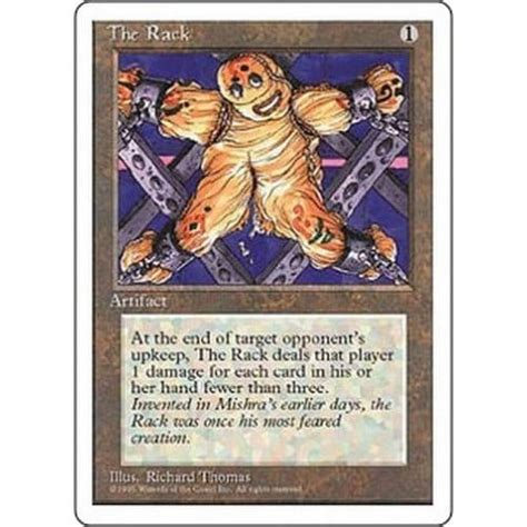 The Rack Deck Mtg by The Rack Magic The Gathering From Magic Madhouse Uk