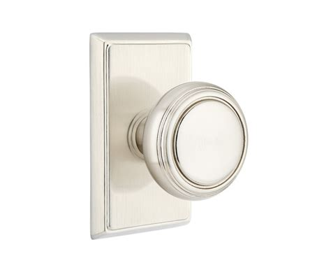 Emtek Door Knobs emtek norwich knob