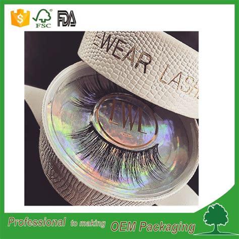 bulumata tanam eyelash per box texture paper circle eyelash packaging