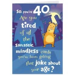 hilarious 40th birthday quotes quotesgram