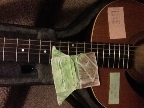Origami Guitar - origami yoda the guitar origami yoda