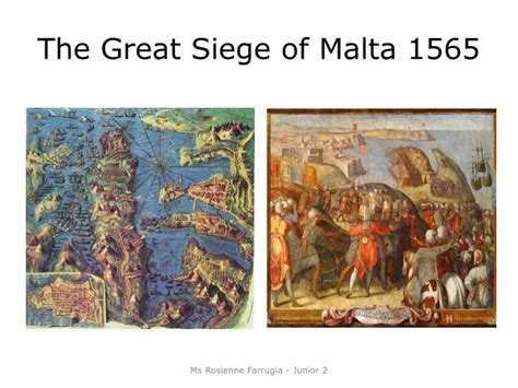the great siege ppt the knights of malta junior 2 powerpoint