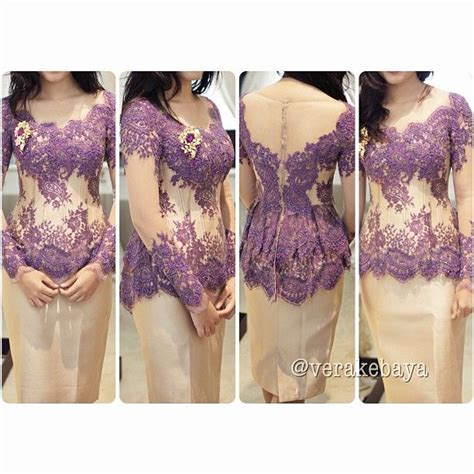 Kebaya Dress Batik Fuschia vera kebaya vera kebaya indonesia kebaya instagram and purple