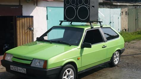 lada apple 2108 green apple drive2
