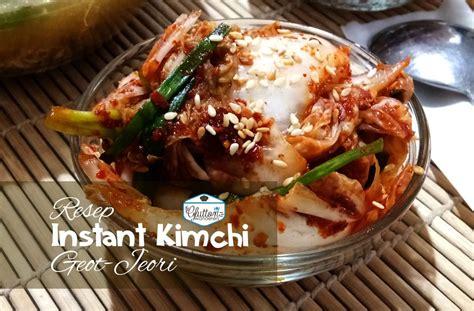 instant kimchi  fermentasi glutton wanderers