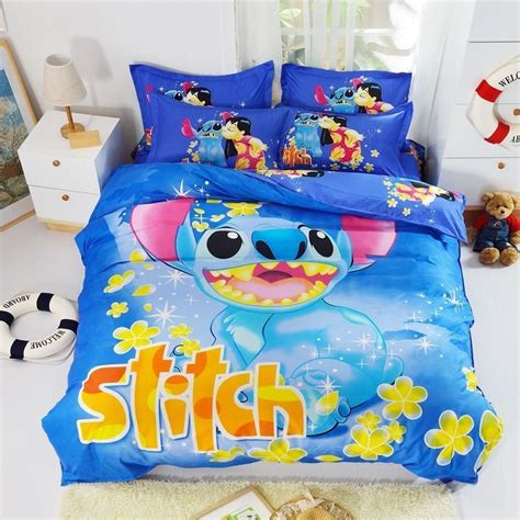 lilo and stitch comforter mickey mouse lilo and stitch bedding sets twin full queen