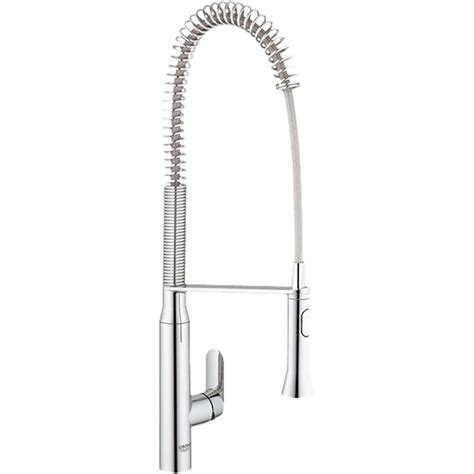 grohe k7 kitchen faucet grohe 32951000 chrome k7 one handle pullout kitchen faucet