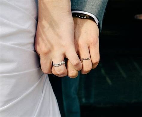 couple tattoo bad luck best 25 wedding band tattoo ideas on pinterest wedding