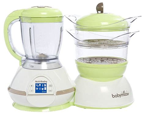 Babymoov Baby Moov Nutribaby Zen Food Processor Sterilizer Blender 1 top 10 best baby food maker in 2018 reviews