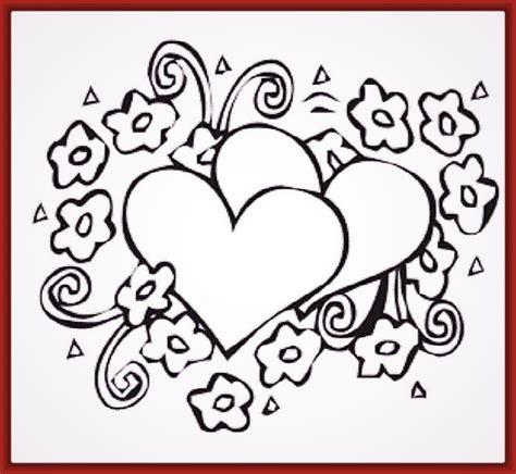 imagenes bonitas para dibujar en blanco y negro imagenes de corazones con alas para dibujar con lapiz