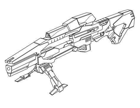 sniper gun coloring page gun sniper rifle drawings sketch coloring page
