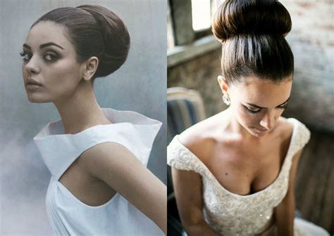 Bridal Bun Hairstyles by Easy Donut Bun Hairstyles To Create Neat Image