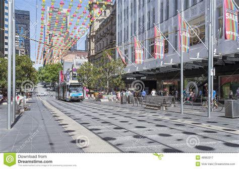 christmas sales bourke street melbourne australia