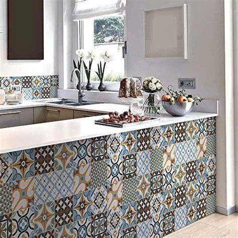 vinilo decorativo autoadhesivo  diseno de azulejos
