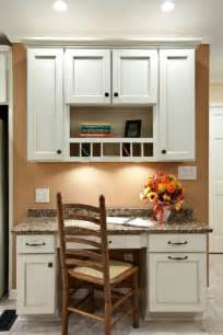 built in kitchen desk kitchen ideas