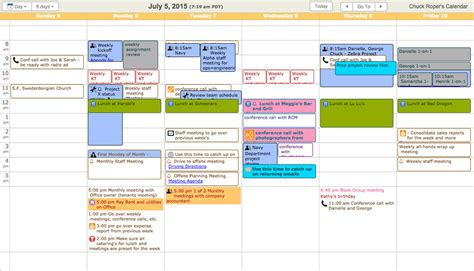 make a free schedule calendar easy to use free calendar keep