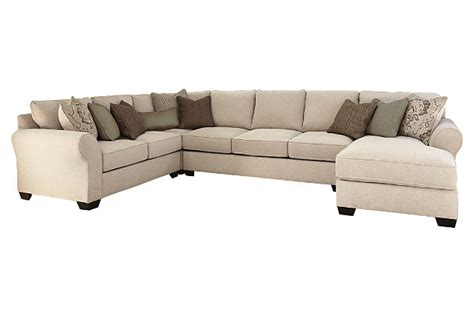 couch ashley wilcot 4 piece sofa sectional ashley furniture homestore