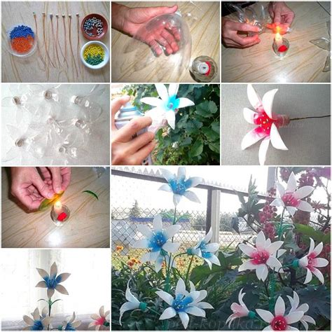 diy plastic bottle projects how to make painted plastic water bottles crafts flowers