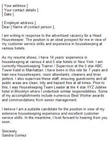 Housekeeper Cover Letter Sle by Professional Cv Writing Services Uk Ssays For Sale