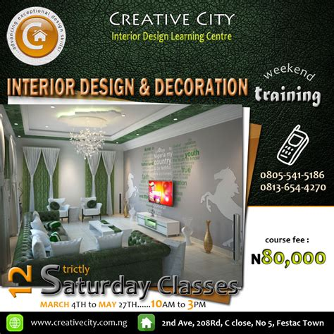 interior design and decoration certificate course