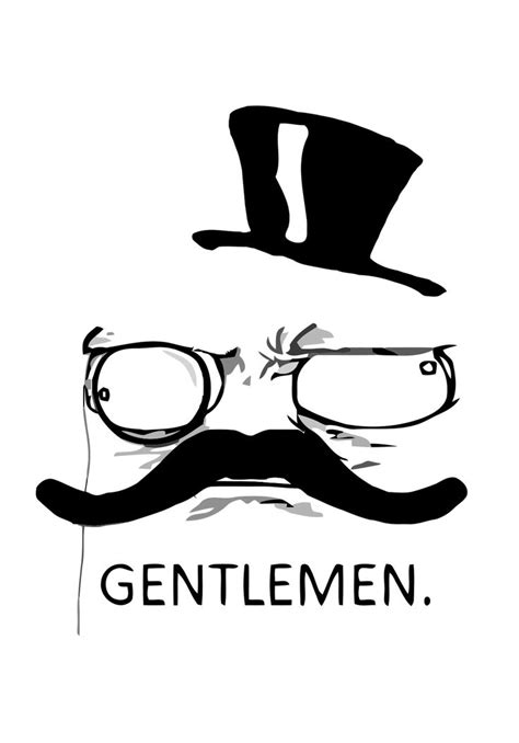 Gentlemen Meme Face - misc gentlemen top hat memes pinterest tops