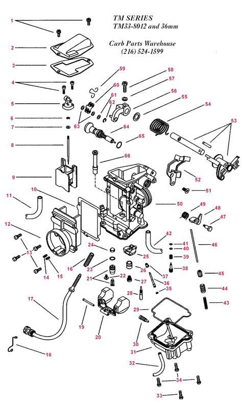 mikuni carburetor diagram mikuni pumper carb diagram parts source