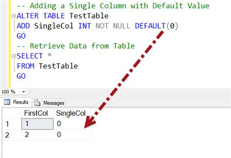 Sql Change Value In Table Sql Server How To Add New Columns To Table With Default Values Sql Authority With