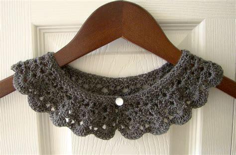 how to knit a pan collar pan crochet collar knit collar child toddler collar